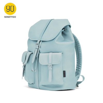 2020 NEW ARRIVAL NINETYGO 90FUN Commuter Nylon Ladies Backpack Women 14 inch Laptop Waterproof Fashion Style Nylon Bag