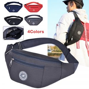 Chest bag Nylon Waist Bag Women Belt Bag Men Fanny Pack Fashion Colorful Bum Bag Travel Purse Phone Pouch Pocket hip bag