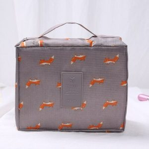 Cosmetic Bag Organizer Waterproof Portable Makeup Bag 2019 Brand Hot Sale Fashion Travel Women Necessity Beauty Case Wash Pouch