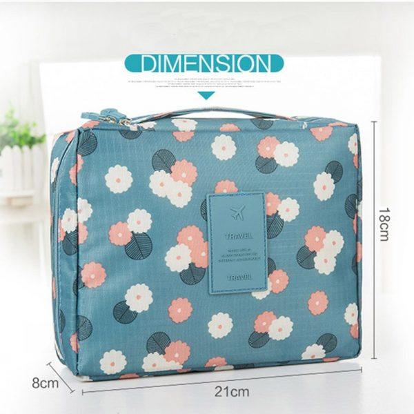 Cosmetic Bag Organizer Waterproof Portable Makeup Bag 2019 Brand Hot Sale Fashion Travel Women Necessity Beauty Case Wash Pouch