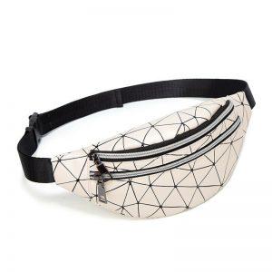 Women Fashion Waist Pack Fanny Belt Bag Travel Messenger Crossbody Shoulder Bag Handbag Clutch Chest Hip Bum Bag Zipper Purse