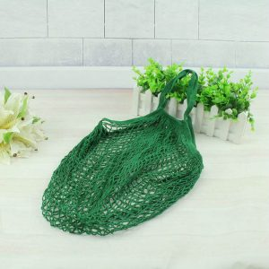 Litthing Brand 2018 New 1PC Reusable String Shopping Grocery Bag Shopper Tote Mesh Net Woven Cotton Bag Hand Totes Dropshipping