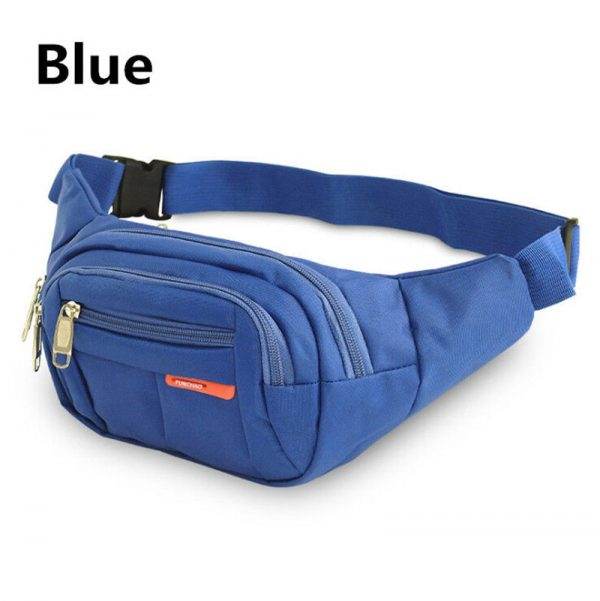 Waterproof Waist Belt Bag Running Jogging Outdoor Pocket Fanny Pack Bum Gym Bag