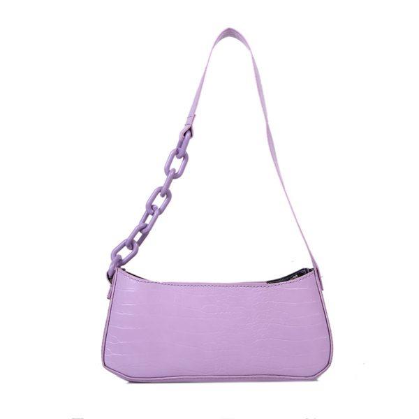 Retro Alligator Pattern Women Shoulder Bags PU Leather Casual Trendy Subaxillary Bags Bolsa Mujer 2020 New Designer Schoudertas
